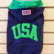 Hooded USA shirt