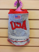 Hooded USA T shirt with Skirt